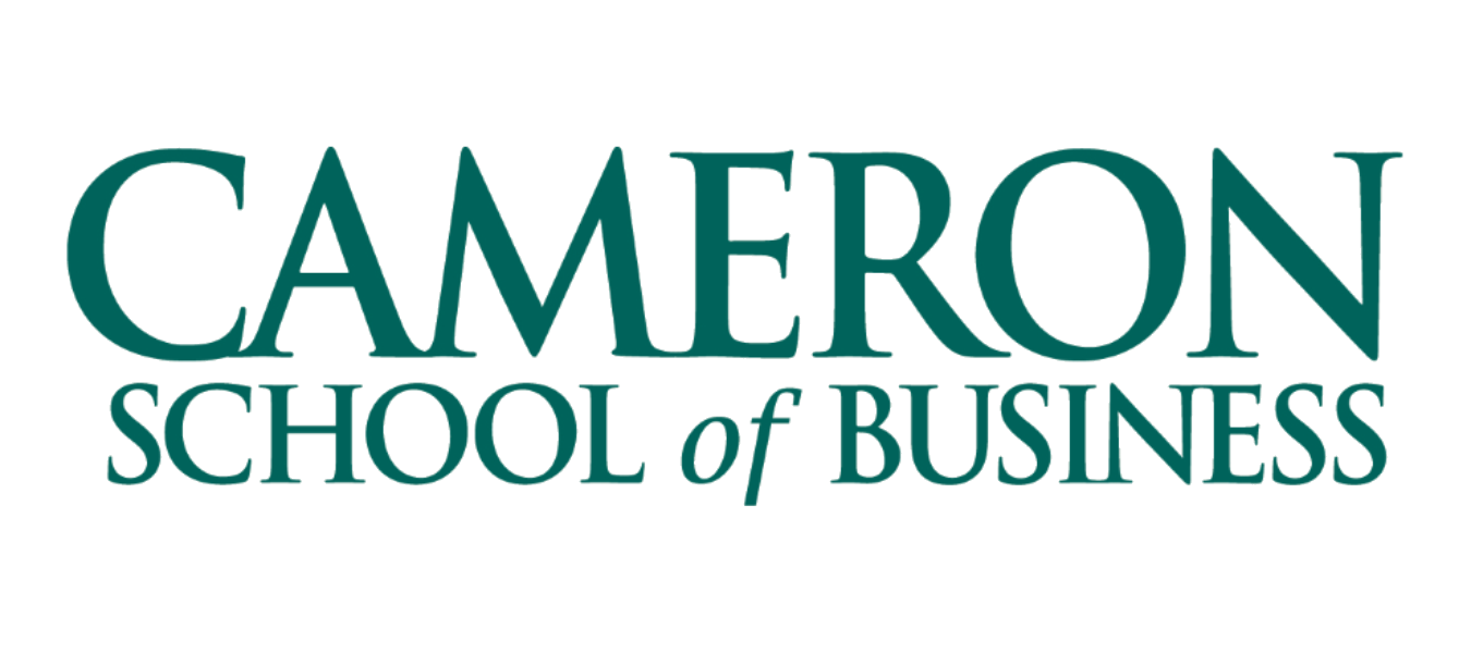Cameron School of Business teal logo